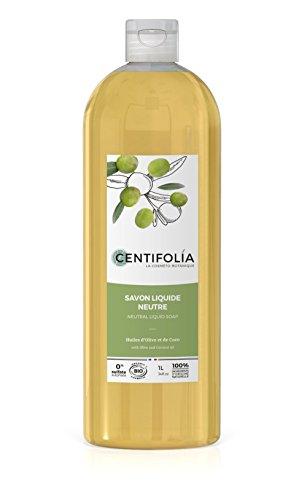 CENTIFOLIA Savon liquide neutre Olive & Coco 1L Bio -
