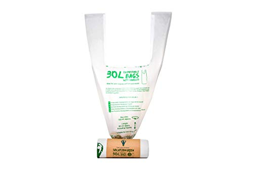 Solution Green Bolsas Basura 100% Biodegradables Compostables