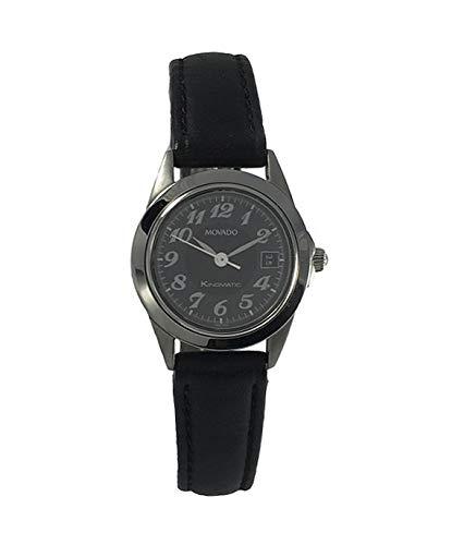 Movado Reloj analogico para Mujer de automático con Correa en Piel 84.B9.0835P