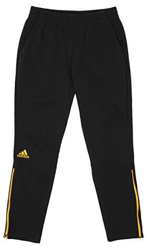 adidas Men's Squad Pant,Black/Gold X-Large