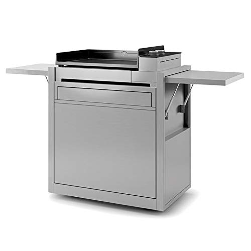 Forge Adour - chpif60 - Chariot pour plancha INOX