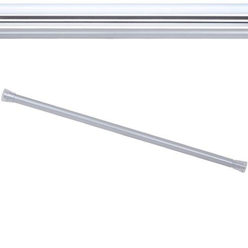 Aquamarin Duschvorhang Teleskopstange Duschvorhangstange – Matt - Länge: ca. 65-110 cm
