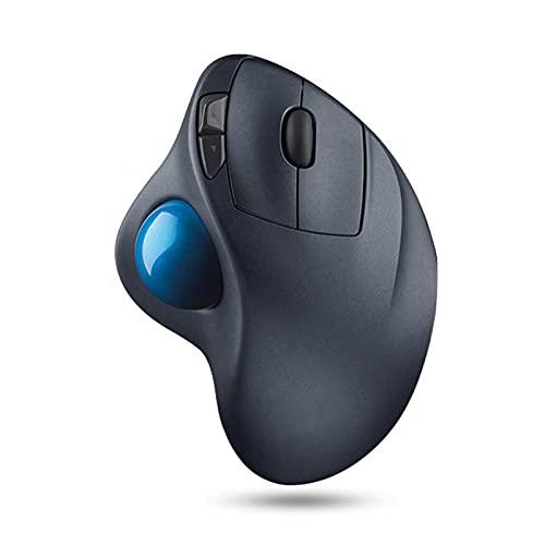 Atsti Wireless Trackball Mouse,Advanced Wireless Mouse, Ultrafast Scrolling, Ergonomic,for USB, Mac, PC Windows, Linux, iPad - Black
