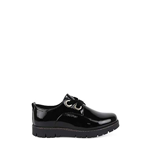 Zapatos chk10 Lila 08 niña Negro