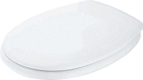 Ideal Standard K705301 WC-Sitz Eurovit K 705301 Scharniere aus Edelstahl, Weiß