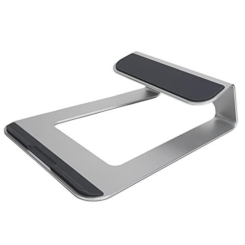 Soporte de escritorio, soporte de aleación de aluminio portátil para Macbook IPad Pro Tablet Notebook 11-15 pulgadas de escritorio para OS X IOS Pad Pro 11-15in Tablet