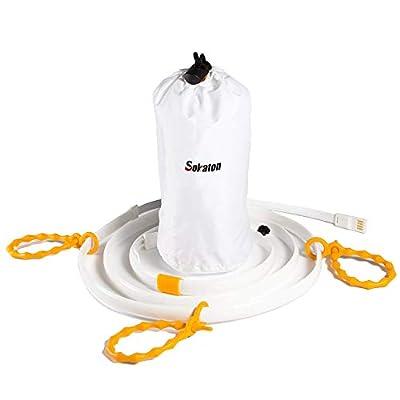 Sokaton LED Light Rope for Camping - Waterproof...
