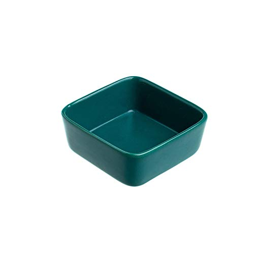Salsa Cuencos Cuencos de inmersión Conjunto 10pcs Platos de porcelana Platos de aperitivos Conjuntos de platos para frutas secas Nueces Dulces Múltiples colores para elegir Cocina Cuencos Aperitivo