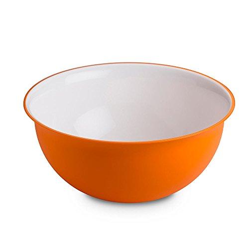Omada Design insalatiera 3,5 litri, misura 26,5 x 12 cm all'interno bianco e colorato...