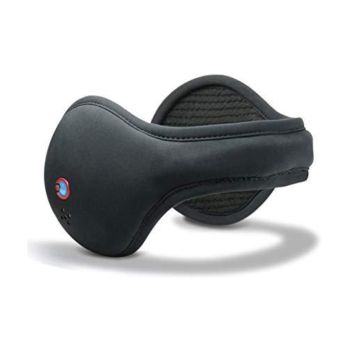 180s Paraorecchie Bluetooth HD IV Donna/Uomo - Protezione Orecchie con Fodera Autunno/Inverno - Taglia Unica Nero