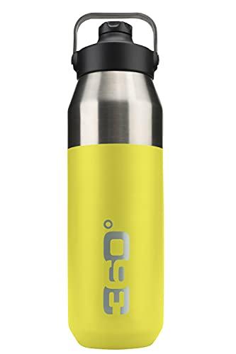 Borraccia isolata larga + bocchetta stretta con tappo magnetico bottiglia, adulti, unisex, taglia unica