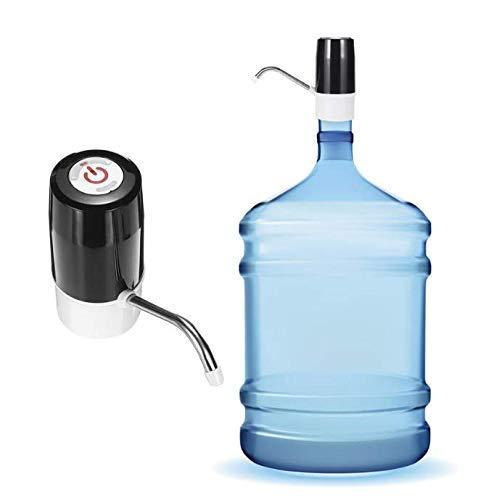 Dispensador de bomba de agua USB eléctrico automático inalámbrico Interruptor de botella de agua potable de galón