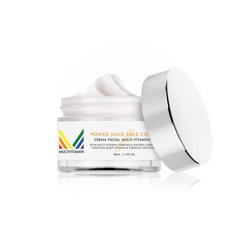 Crema facial Multivitamin. Una crema 10, para el rostro y cuello con 10 ingredientes para un cuidado Total: Rejuvenece, hidrata, protege, elastiza y suaviza
