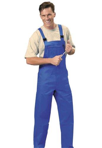 Onbekend werk-tuinbroek in koningsblauw