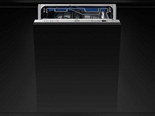 Smeg STL7235L Semi intégré Semi intégré 13places A+++ lave-vaisselle - Lave-vaisselles (Semi intégré, Noir, Taille maximum (60 cm), Noir, boutons, 13 places)