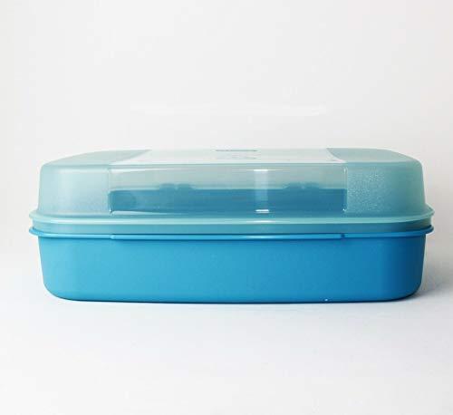 Tupperware® Großes Naschkätzchen in blau-türkis A03 Picknick-Box