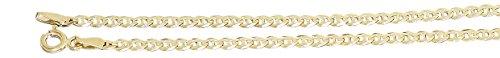 Hobra-Gold 19 cm massives feines Goldarmband 585 / 14 Kt. Armband Armkette Ankermuster