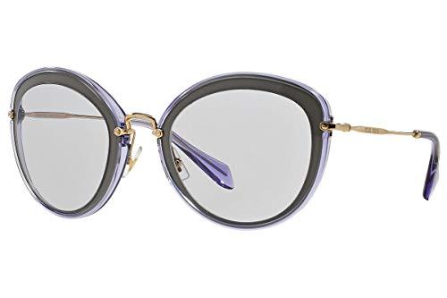 Miu Miu MU50RS Gafas de Sol Lila Arcilla con Lentes Lila UFA3F2 SMU 50R