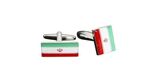 Flaggenfritze® Manschettenknöpfe Fahne / Flagge Iran