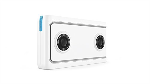 Lenovo Mirage VR180 Camera (2GB RAM, 16GB Speicher, 13MP + 13MP, Android) weiß