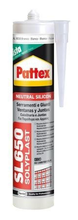 Pattex Silicone SL650 Castanho R8017 300 ml