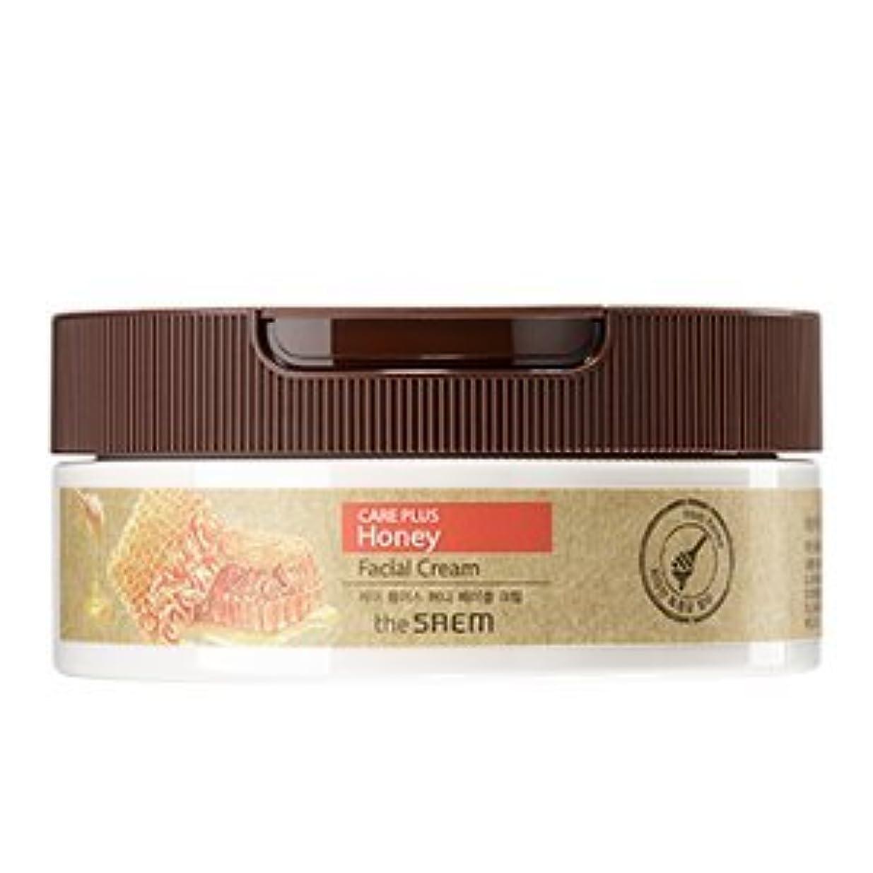 パーセントマエストロ日焼けthe SAEM Care Plus Honey Facial Cream 200ml/ザセム ケア プラス ハニー フェイシャル クリーム 200ml [並行輸入品]