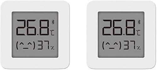 Guangmaoxin für Mijia Hygrometer Thermometer, Temperature and Humidity Monitor, Bluetooth Thermo Hygrometer, Kompatibel mit Mi Home App