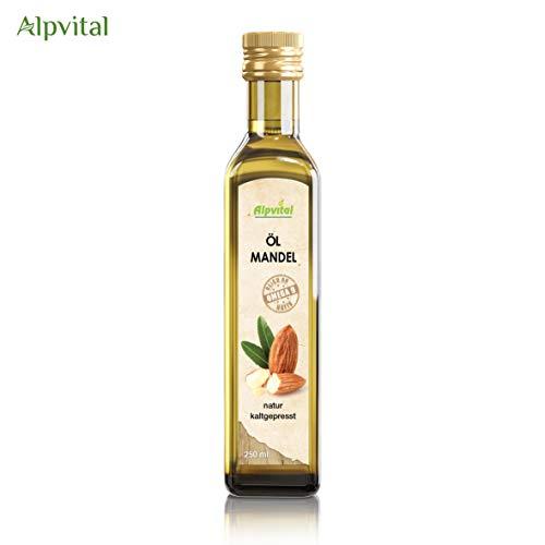 Mandelöl 100% rein kaltgepresst 250ml - Alpvital