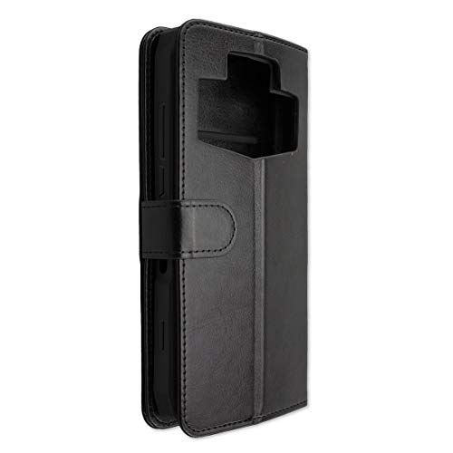 caseroxx Tasche für Ulefone Power 5 / Power 5s Bookstyle-Case in schwarz Hülle Buch