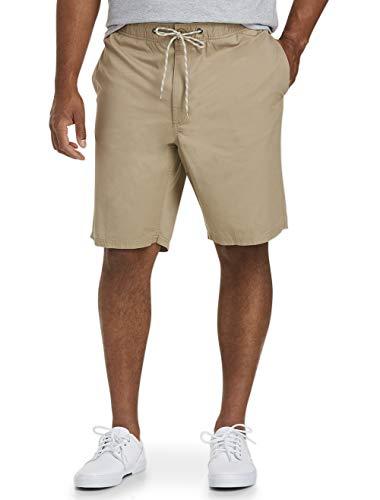 Amazon Essentials Men's Big & Tall Drawstring Walk Short fit by DXL, Khaki, 5X