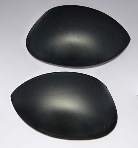 Kit de rétroviseurs droite/gauche Laqué noir peugeo. 206
