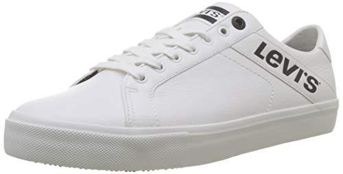Levi's Woodward L, Zapatillas Hombre, Blanco Sneakers