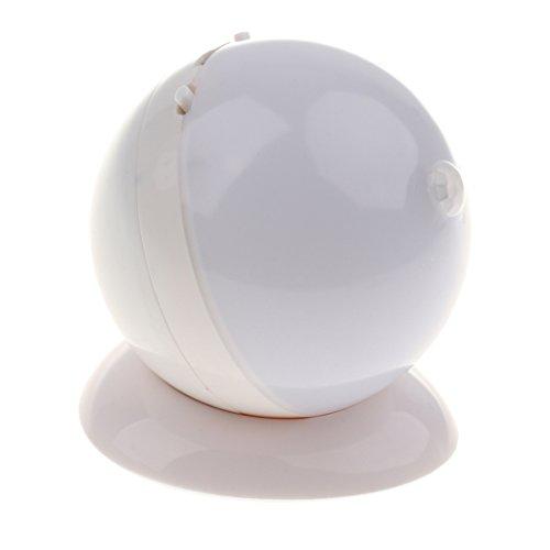 Baoblaze Lámpara de Mesa Lámpara de Mesa con PIR Sensor de Movimiento, batteriebetriebene o USB Recargable, Lámpara de Mesa de Noche con Detector de Movimiento