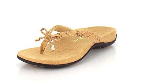 Vionic Damen Rest Bella II Zehentrenner-Sandale, Gold (Gold Cork), 42 EU