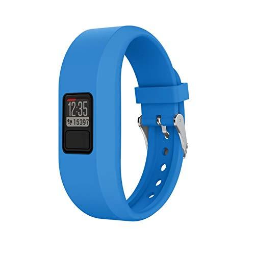 LXF JIAJU Correas De Banda De Reloj para Garmin VIVOFIT 3 Watch Band Sport Sport Silicone Reemplazar La Pulsera De La Pulsera Inteligente Accesorios para VIVOFIT 3