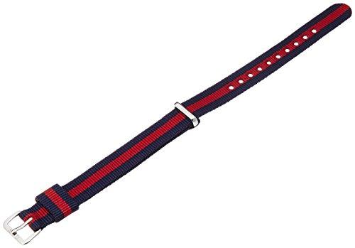 Daniel Wellington 1025DW Classy Oxford–Orologio da polso da donna, in nylon, colore del cinturino: bicolore