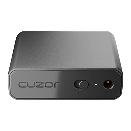 Cuzor Mini UPS for Wi-Fi Router | Supports All (12V-2A) (12V-1.5A)(12V-1A) (12V-0.5A) | 3-5 Hour Backup