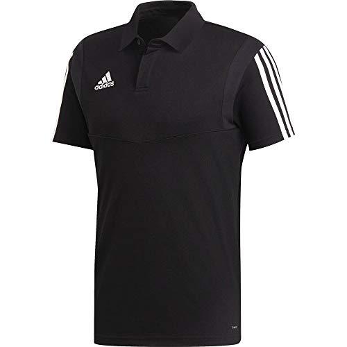 adidas Herren TIRO19 CO Polo Shirt, Black/White, 4XL