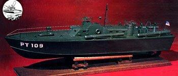 PT-109 Wooden Boat Kit by Dumas by Dumas