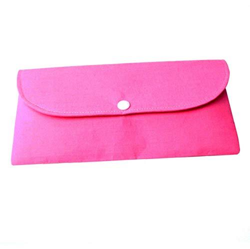 Aufbewahrungstasche für (Behelfs) Mundschutz Masken, Farbe Pink, Handmade in Germany