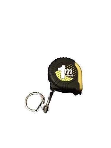 LATHEA Mini Retractable Tape Measure Ruler Portable Pull Ruler Key Chain Stable Slide Lock Plastic Portable 1m Retractable Ruler Keyring