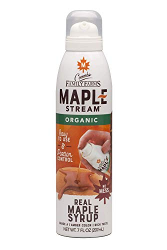 Coombs Family Farms Maple Stream Sprayable Maple Syrup Organic Grade A Amber Color 7 Fl Oz