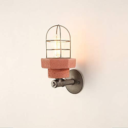Postmodern Aisle Cemento Macaron wandlamp creatief in Amerikaanse stijl ijzeren lampenkap Edison-kabel wandlamp wandlamp keuken gang ladder lampen