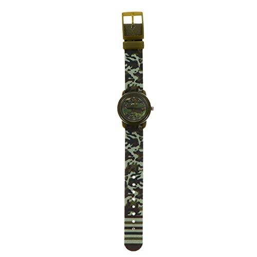 UKCOCO 1 Reloj Creativo para Niños Reloj de Camuflaje Resistente Al Agua para Decoración