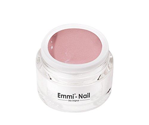 Emmi-Nail Farbgel Nude 3: UV-Gel für glänzendes Finish, hohe Deckkraft, rosiges Nude, mittelviskos, kein Verlaufen in die Nagelränder, 5 ml