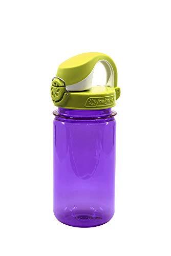 Nalgene Everyday OTF Kids - Borraccia, violett ohne Motiv, Deckel grünweiss