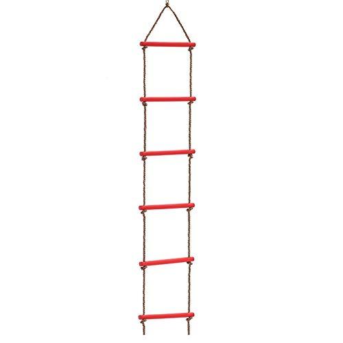 Swing Set Accesorios Playground Colgando Escalera Juguete Equipo de ejercicio Equipo de ejercicio de seis secciones Escalada Escalada Seguridad Salud Fácil de montar Fácil de reequipamiento Durable