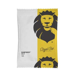Royal Cup Signature Rainforest Bold (30% RFA) Dark Roast Ground Coffee 42 Count of 3 oz. Pre-Portioned Bags