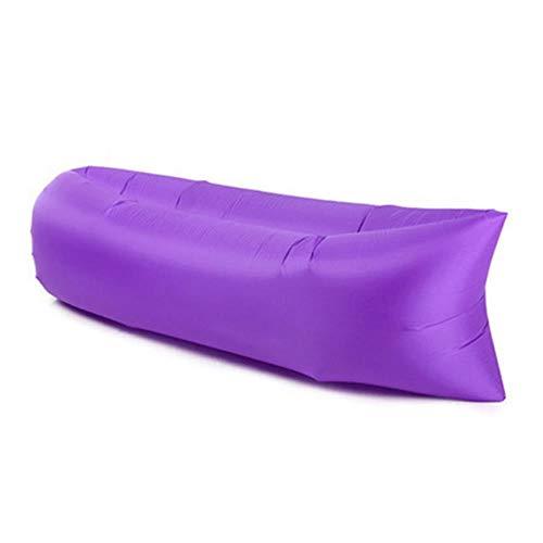 Clkdasjd Outdoor-Sofa aufblasbar violett