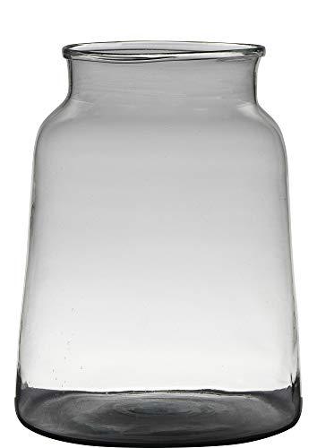 Vaas H30 D23 Handgemaakt Recycled Glas Marc